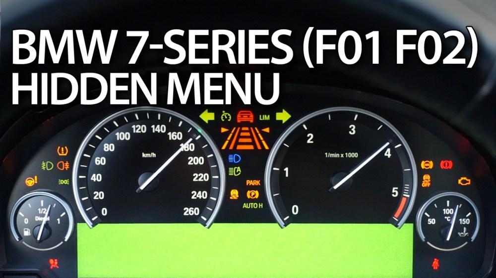 medium resolution of bmw f01 f02 hidden menu diagnostic mode