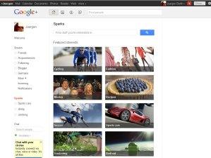 Google sparks