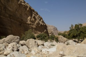 The riverbed at Umq Al Rubakh