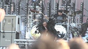 Skunk Anansie gave an awesome performance