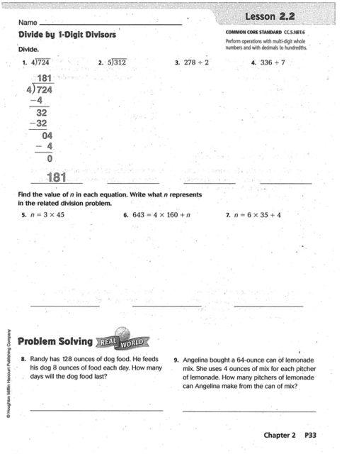 small resolution of Go Math Chapter 2 Practice Book   Mr. Monteleone's 5th Grade Class
