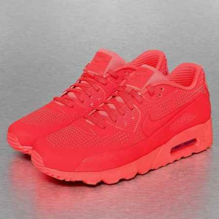 Nike Air Max 90 Ultra Moire Sneakers Bright Crimson/Bright Crimson/White