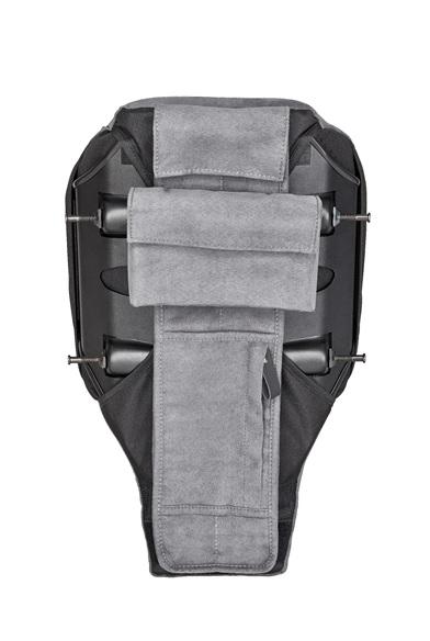 DIE FIRST-CLASS-RÜCKENLEHNE mit Taschen
