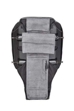 DIE FIRST-CLASS-RÜCKENLEHNE mit geschlossenen Taschen