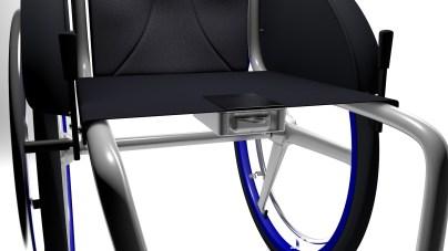 Die Halteklammer klemmt die Headunit an den Sitz