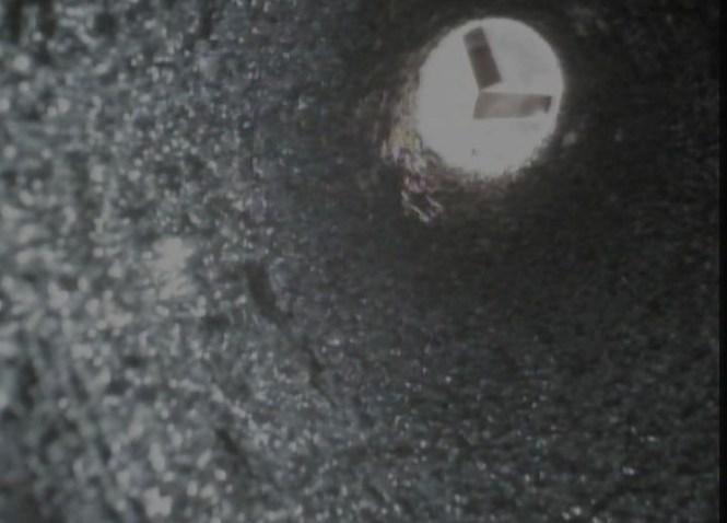 Tar in a chimney liner