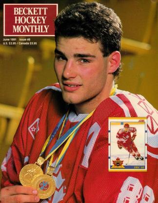 #08 June 1991-Eric Lindros Hockey Beckett