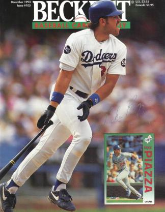 #105 December 1993-Mike Piazza Baseball Becketts