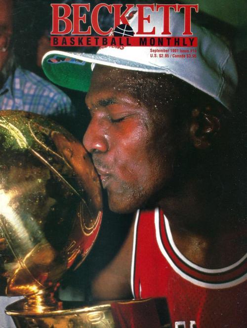 #14 September 1991-Michael Jordan Basketball Beckett