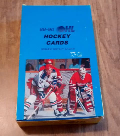 1989-90 7th Inning Sketch OHL Hockey Box
