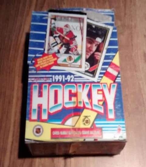 1991-92 O-Pee-Chee OPC Hockey Box