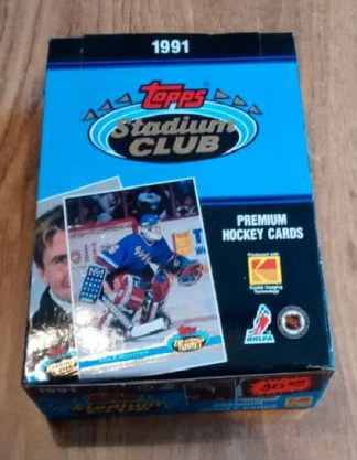 1991 Stadium Club HOCKEY Premiere Box NHL