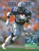 #21 December 1991-Emmitt Smith Football Beckett