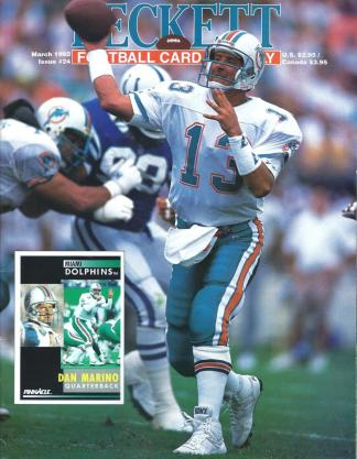 #24 March 1992-Dan Marino Football Becketts