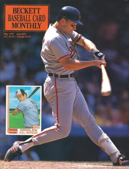 #74 May 1991-Cal Ripken Jr. Baseball Becketts