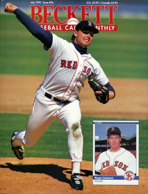 #76 July 1991-Roger Clemens Baseball Beckett