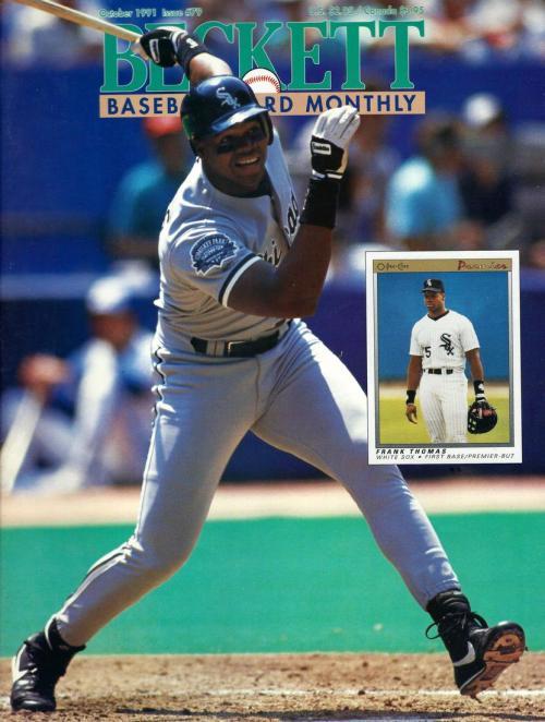 #October 1991-Frank Thomas Baseball Beckett