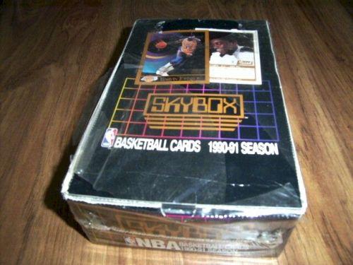 1990-91-Skybox Basketball Cards Box - JORDAN
