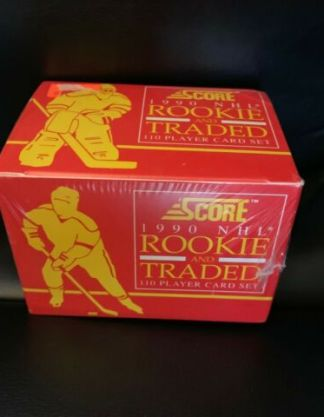1990 Score NHL Rookie and Traded Factory Set