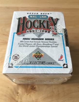 1991-92 Upper Deck Hockey HIGH NUMBER SERIES Set