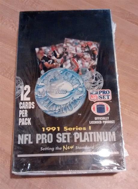1991 NFL Pro Set Platinum Football Series 1