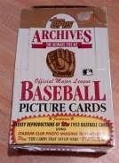 1991 Topps Baseball Archives Reprint Box