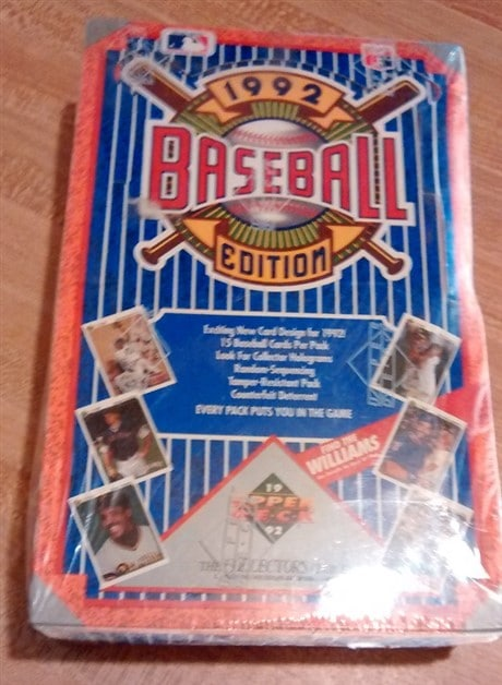 1992 Upper Deck Low Series Baseball Hobby Box