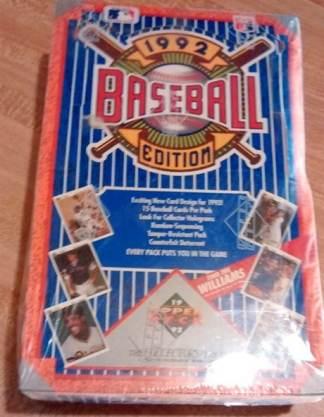 992 Upper Deck Low Series Baseball Hobby Box