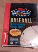 1993-Topps Stadium Club Series Baseball Hobby Box
