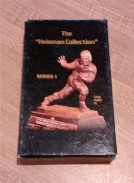 The Heisman Collection Series 1 Football Card Set