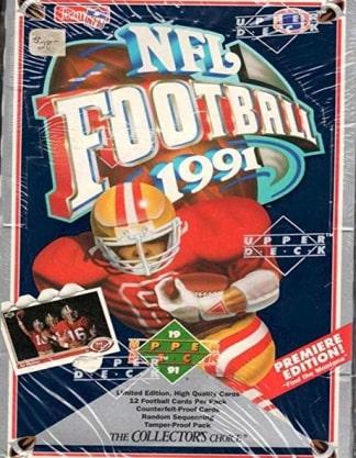 1991 Upper Deck NFL Football Box