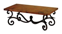 Forged Fountain Coffee Table Base | Mr Vallarta's