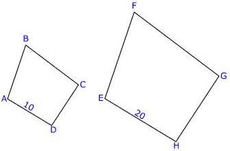 Congruent vs Similar