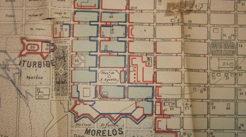 Ubicación Fuerte San Javier o Iturbide