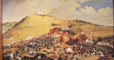 Óleo sobre tela de Patricio Ramos, siglo XIX