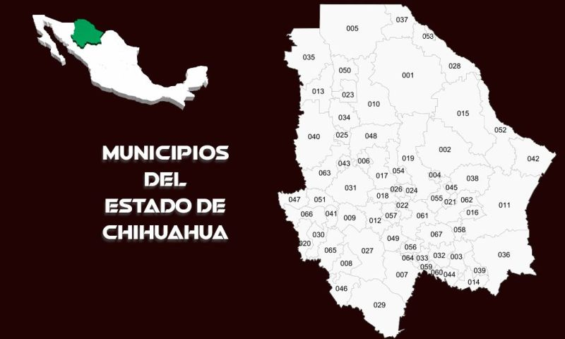 Municipios del Estado de Chihuahua