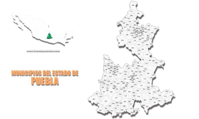Municipios del Estado de Puebla