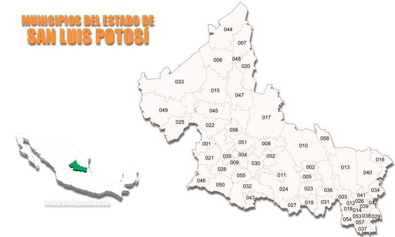 Municipios del Estado de Sinaloa