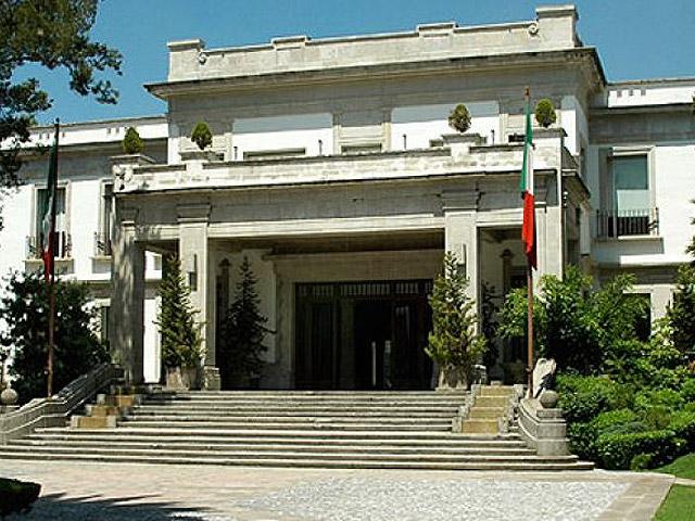 Los pinos residencia oficial mexico real - Casa los pinos ...