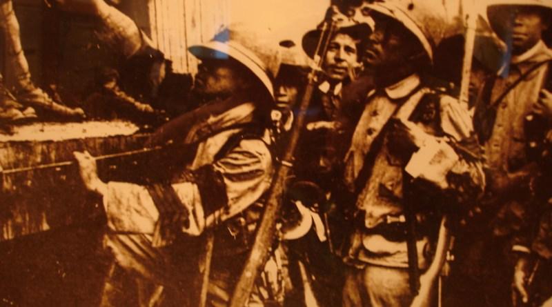 Fuerzas Federales en la Batalla de Zacatecas
