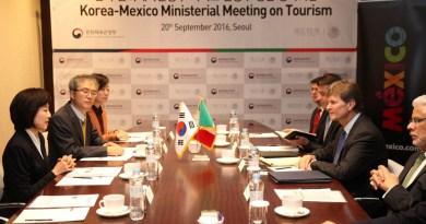 Acuerdo turístico entre México y Corea del Sur