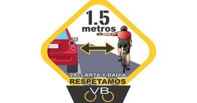 Ciclistas en Puerto Vallarta