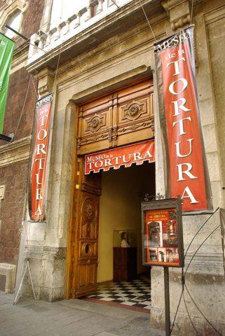 Museos en CdMx 23: Museo de la Tortura