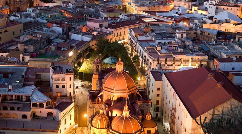 Allende prepara la defensa. Vista actual de Guanajuato