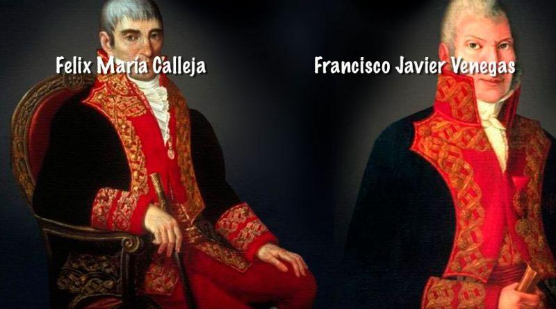 Felix María Calleja del Rey y Francisco Javier Venegas