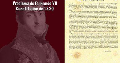 Una nueva constitución es proclamada en España