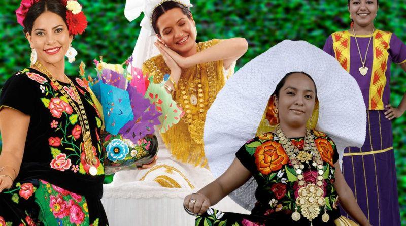 Trajes Regionales del Istmo de Oaxaca
