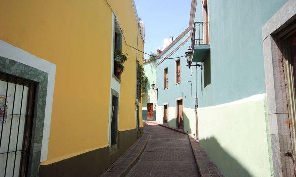 Calles de la Ciudad de Guanajuato