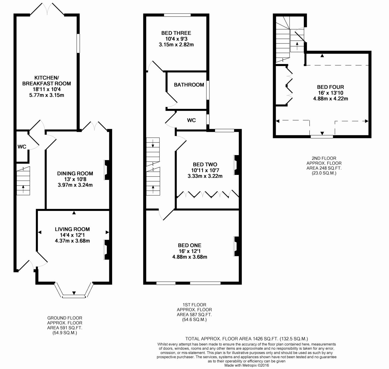 4 bedroom property for sale in Worting Road, Basingstoke