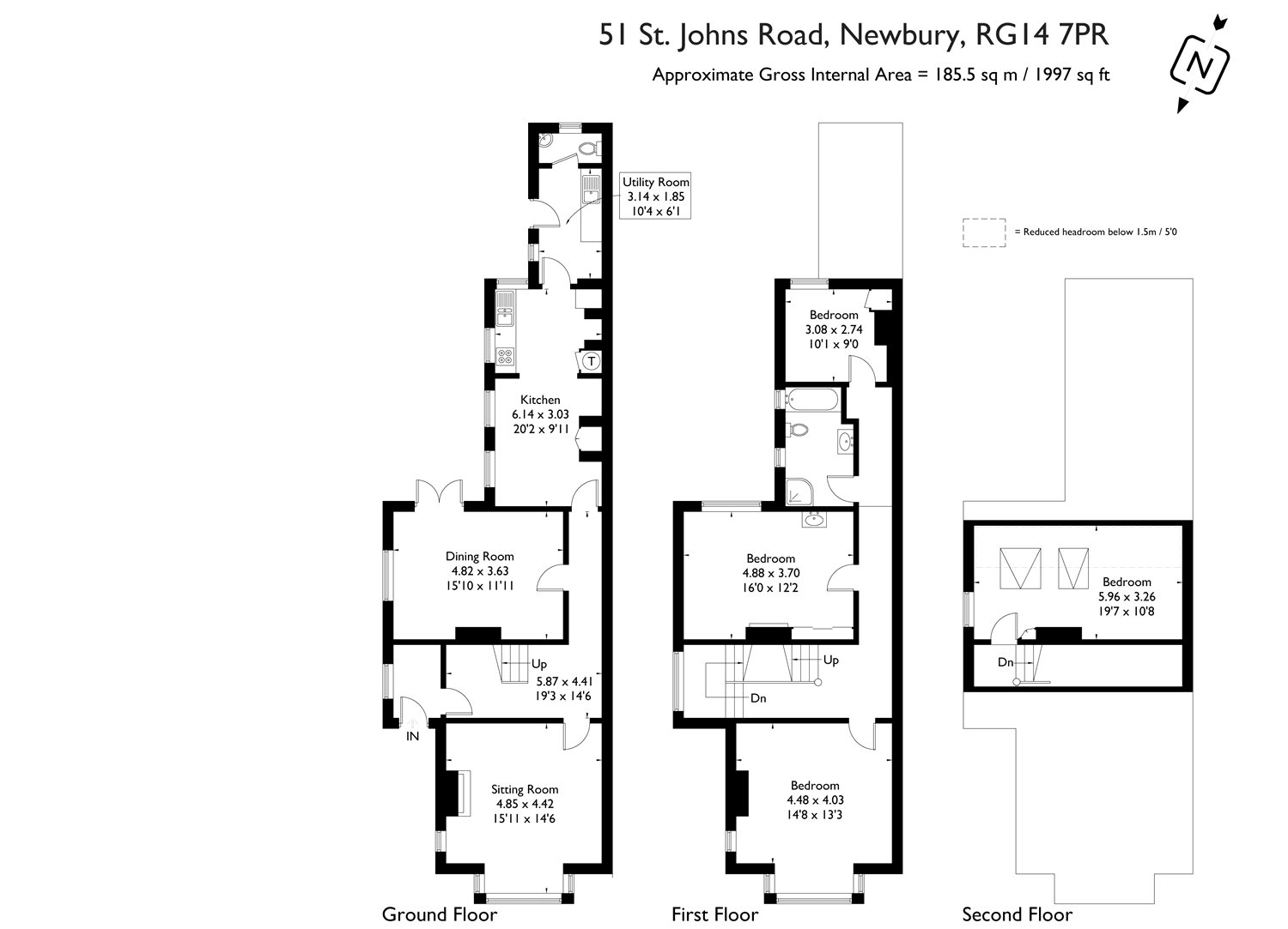 4 bedroom property for sale in St. Johns Road, Newbury